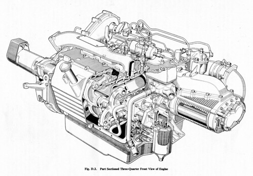 Commer Ts3 Diesel Engine 3 4 View The Rootes Ts3 Is A