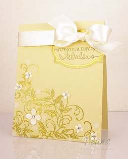 Linen 'n Gold | by Nerina's Cards