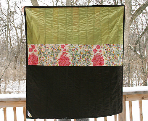 Good Folks Scrappy Quilt Back | by Fresh Lemons : Faith