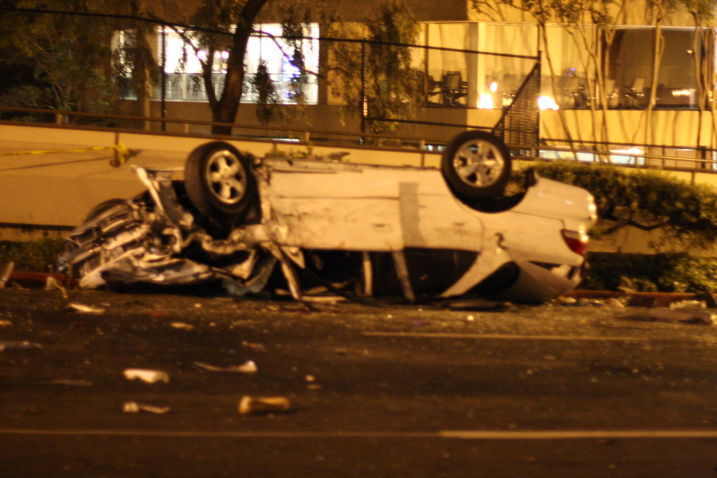 i was witness to the craziest car crash i have ever seen t flickr