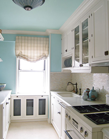 Charming Blue White Kitchen Benjamin Moore Wedgwood Gr Flickr