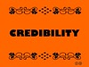 Buzzword Bingo: Credibility