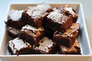 Chocolate and coconut brownies | by JaneyAnna
