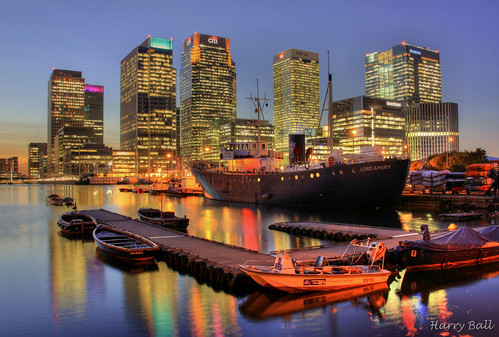 Docklands hdr sunset | by Harry Ball