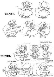 free fibel goes west coloring pages | Tanya & Fievel | Posted via email from Animation Model ...