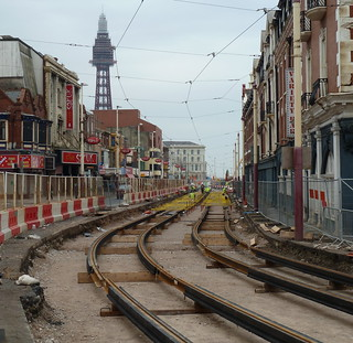 20110312 Metropole tram tracks | by blackpoolbeach
