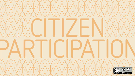 Harnessing citizen participation via social media and open source tools