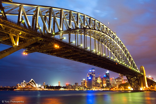Sydney Harbour Bridge | by -yury-