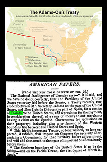 February 22nd 1819 - USA Purchases Florida From Spain | by Bradford Timeline