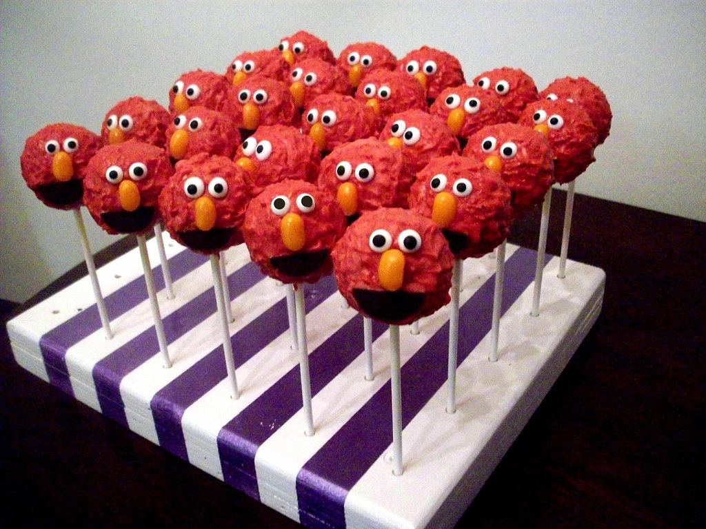 Elmo Cake Pops By Kim C Nj