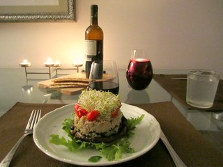 Quinoa Stack | by veganbackpacker