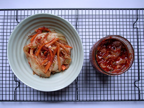Homemade Kimchi 김치 and Fermented squid side dish 오징어젓 | by Belleyish