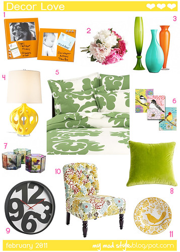 Decor Love - Feb 2011 | by Jessie {Creating Happy}