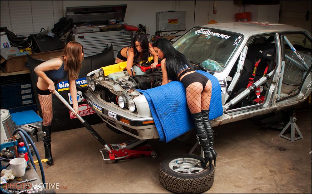 Bill Caswells BMW Rally Car Mechanics  wwwthephotomotive  Flickr