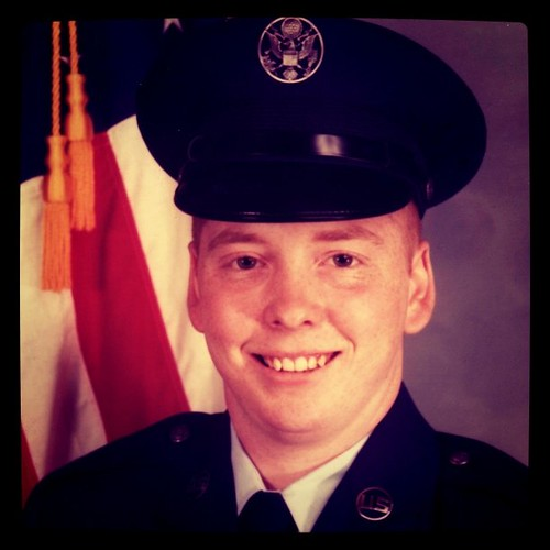 Me at twenty. Joined the US Air Force. Now this was a life changing experience. | by ObieVIP