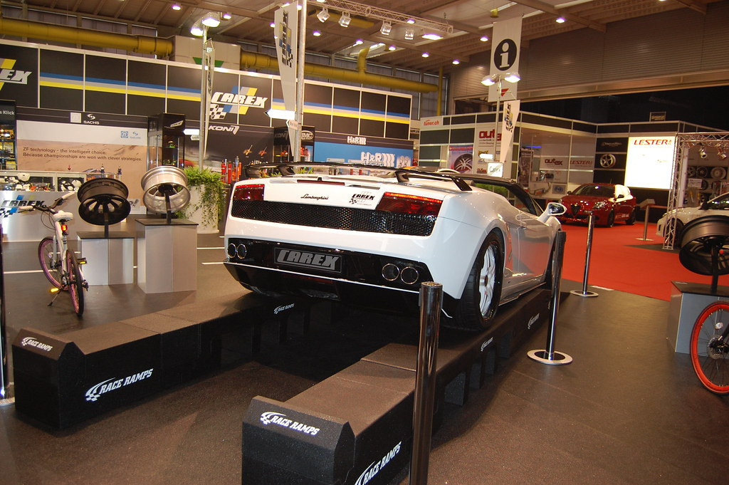 Race Ramps At The Geneva Auto Show Pictures Of Race R Flickr - Car show ramps