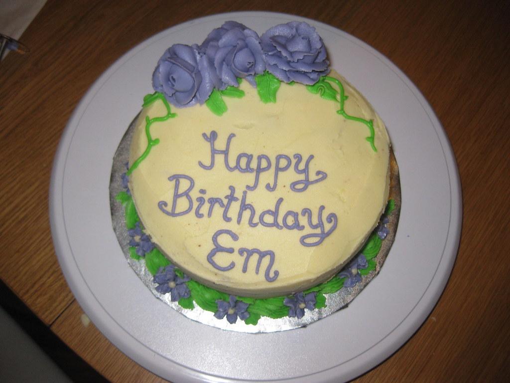 By KiWiInOz Basic 6 Inch Birthday Cake