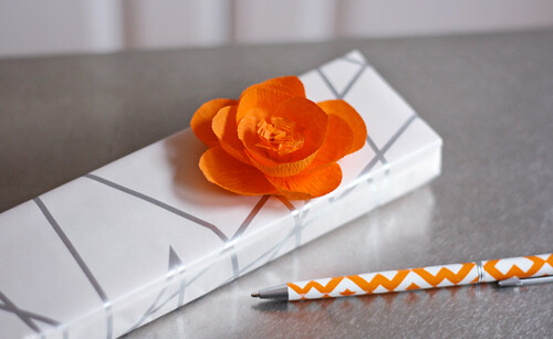 Crepe paper flower | by How About Orange