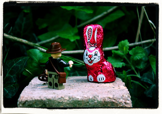 Indiana Jones and the Metal Pink Easter Bunny | by DocChewbacca