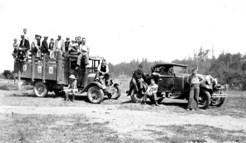 Come on along 4-H members on first summer field tour in Coos and Curry Counties, ca. 1934 | by OSU Special Collections & Archives : Commons