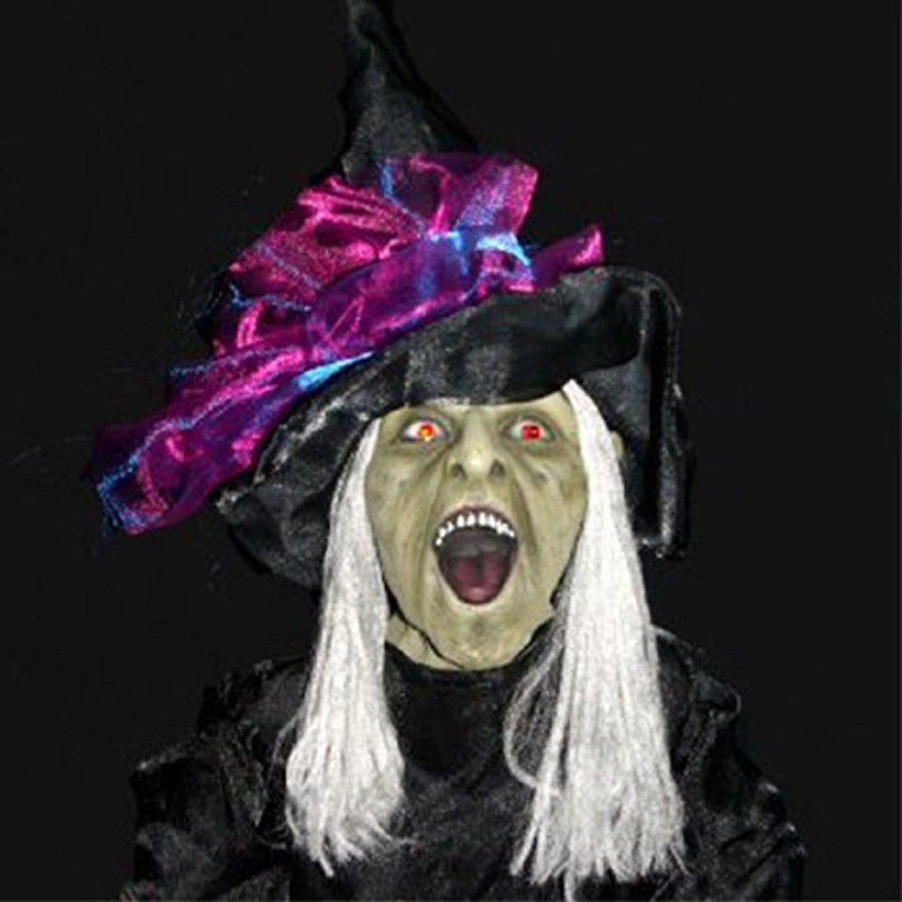 animated standing wicked witch life-size light-up sound ha… | flickr