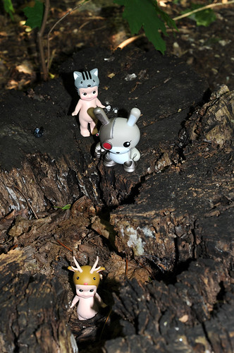 Robo-Dunny Stalking His Prey, Doesn't Realize The Hunter Is Also Now The Hunted. (279-365) | by Operator99