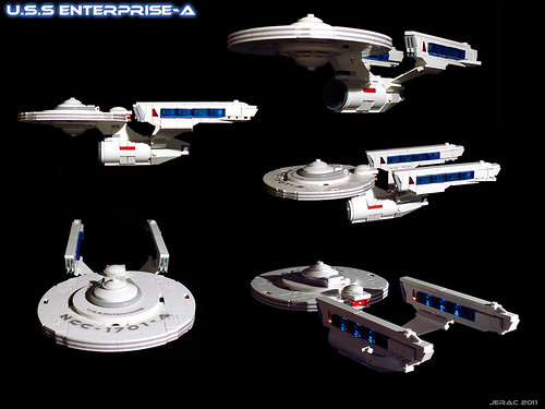 Enterprise-A (refit) | by Jerac
