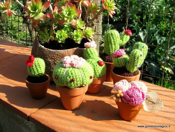 Crochet Cactus - Airali | 378x500