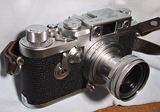 Leica IIIg with Elmar 50mm F2.8 | by bergheil