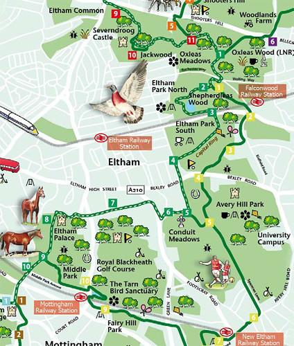 Green Chain Walk Map green chain walk section 6 | eshootershill | Flickr Green Chain Walk Map