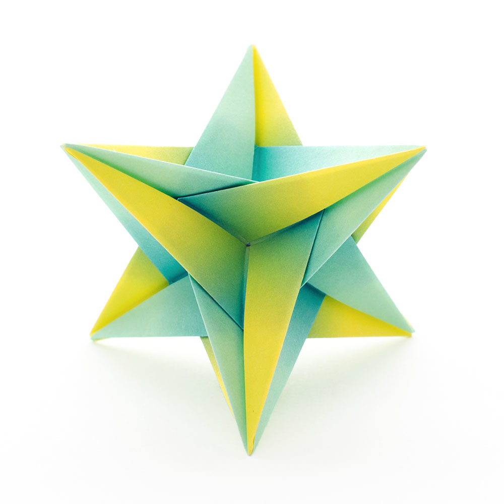 Modular Origami Triangle Box