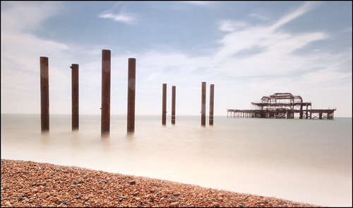 Giant Spider drowns off West Pier | by Bald Monk
