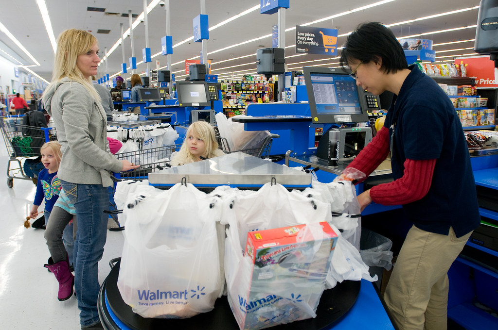 Walmart Grocery Checkout Line in Gladstone, Missouri | Flickr