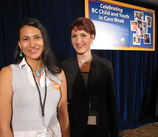 Getting ready to MC | by BC Gov Photos