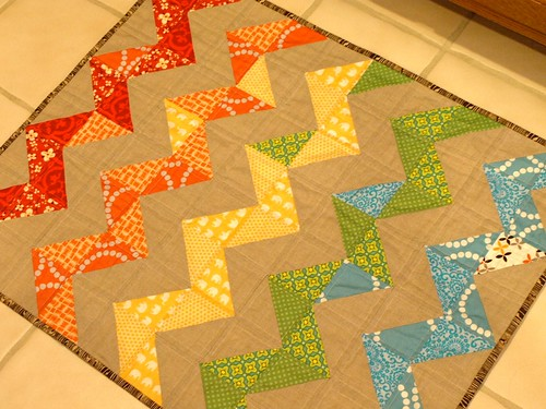 spicing up the kitchen rug! | by ambernoel!