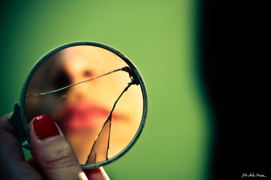 broken mirror reflection photography. by michela medda broken mirror. reflection. girl. | mirror reflection photography e