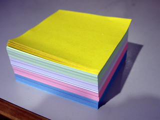 Coloured Note Paper | by Yortw