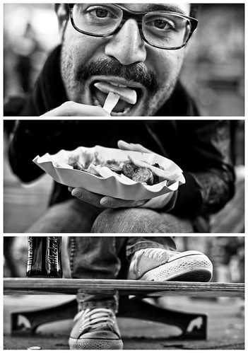 Triptychs of Strangers #11, The Hungry Typograph - Hamburg | by adde adesokan