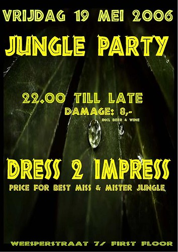 Jungle Party -- 19 mei 2006 | by DJ Fass