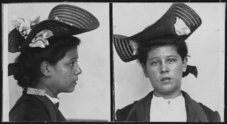 Prisoner at Leavenworth Federal Penitentiary. Lizzie Cardish., 1906 | by The U.S. National Archives