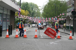 """Road Closed"" for street party 