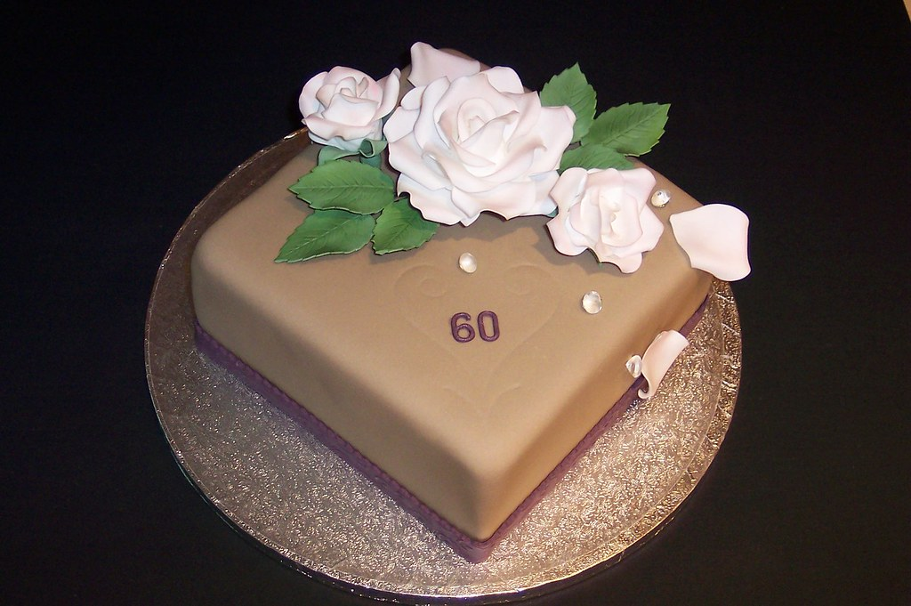 Birthday Cake Rose 60