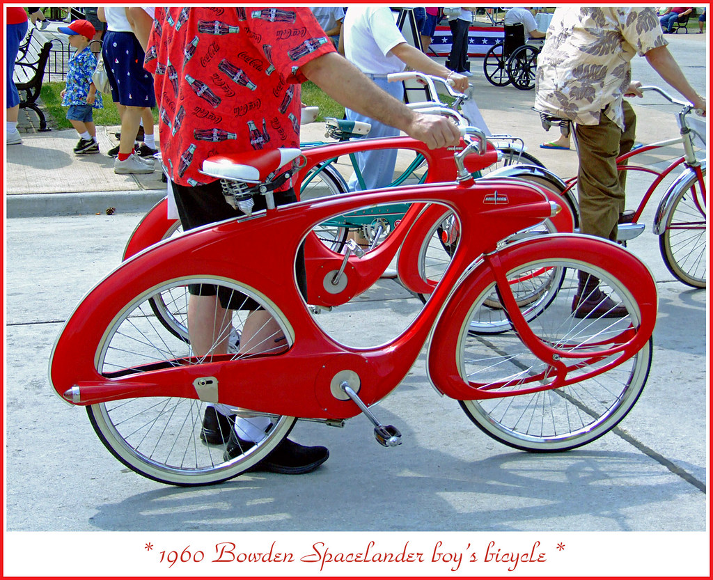 1960 Bowden Spacelander Bicycle The June 16 2007 Motor Mu Flickr