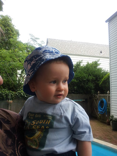 Jackson in his sunhat | by C.K. Sample III