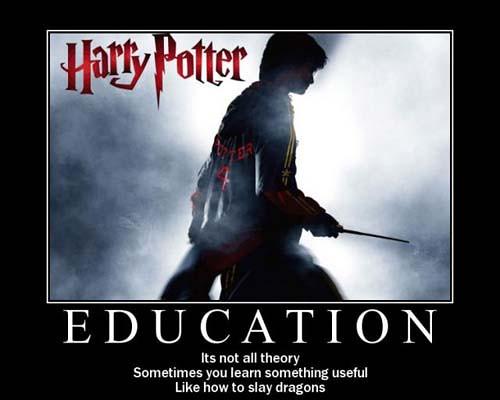 motivational-poster-education | An interesting harry potter … | Flickr