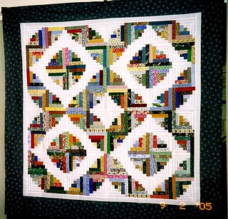 T-Tiny Log Cabins | by Linda Rotz Miller Quilts & Quilt Tops