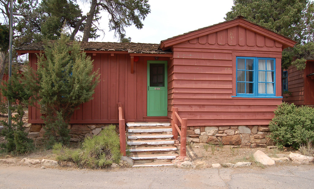 Genial ... Grand Canyon National Park: 0523_01 Bright Angel Lodge Cabin | By Grand  Canyon NPS
