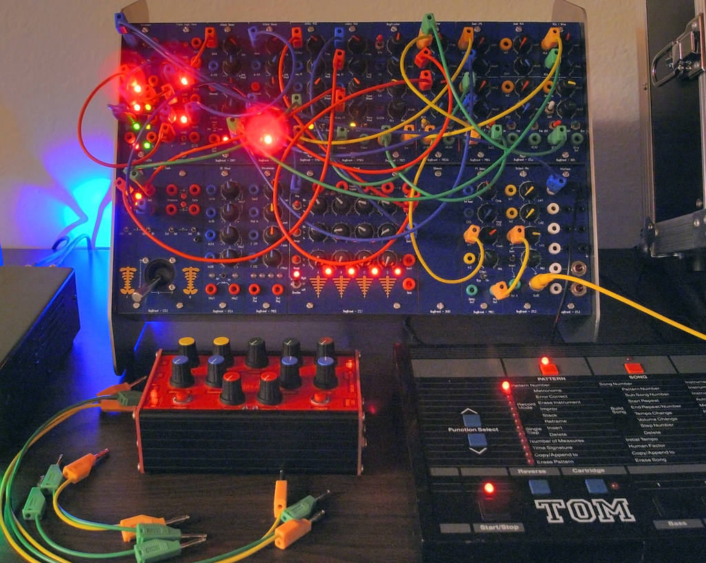 ... BugBrand Modular Synthesizer & PT Delay Box | by miditerranean