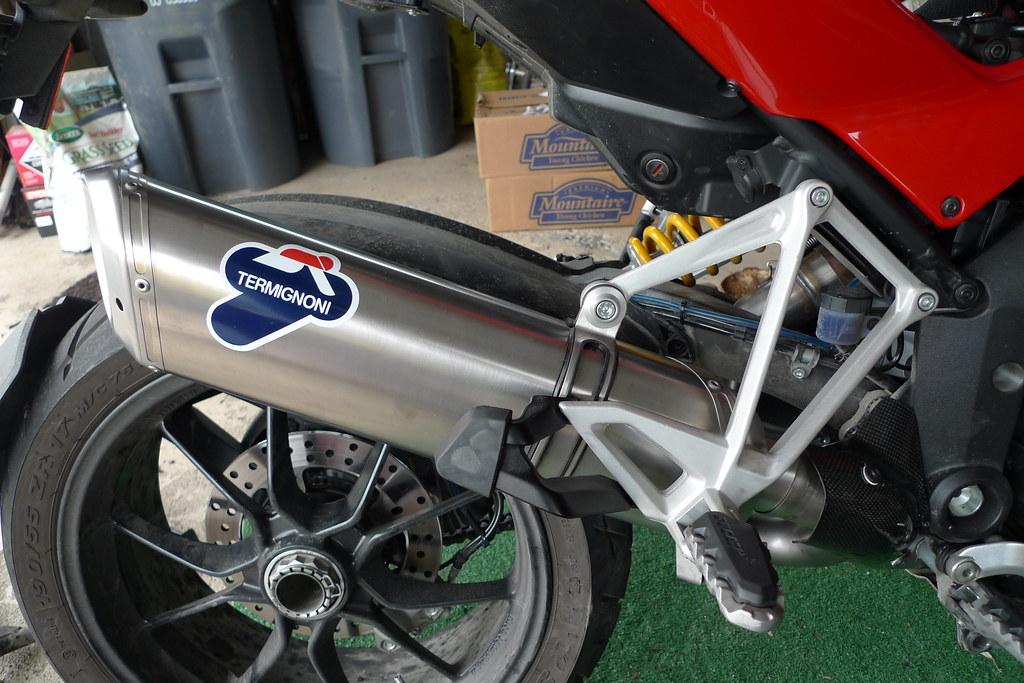 Ducati Multistrada Termignoni Titanium Full Exhaust