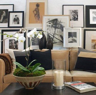 Amazing ... David Jimenez {black, White And Beige Living Room} | By Recent Settlers